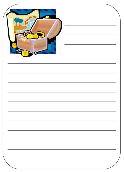 pirate writing paper 17 best images about pirate on coloring pages