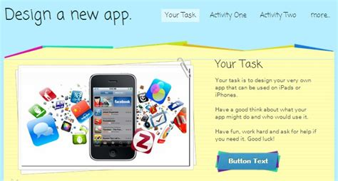 App Design Ks3 | design an app a digital technologies project for 4 5 6