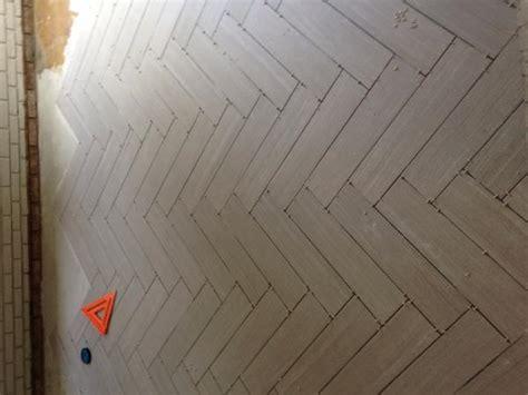 Shower Bath Panel herringbone ceramic tile advice forums john bridge