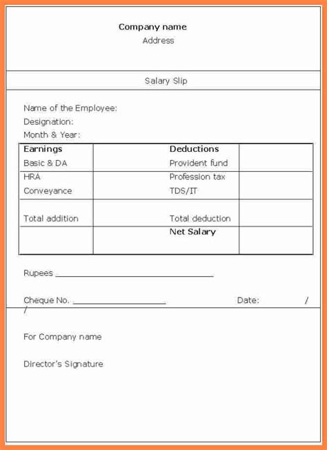 amazing basic payslip template gallery resume ideas