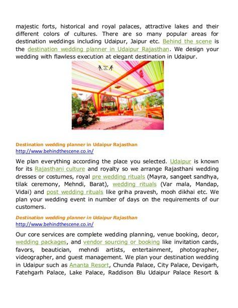 Wedding Planner Udaipur by Destination Wedding Planner In Udaipur Rajasthan