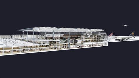 airport sections berlin brandenburg willy brandt airport gmp architekten