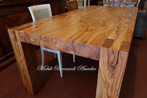 tavole moderne tavoli e tavolini in ulivo massello tavoli