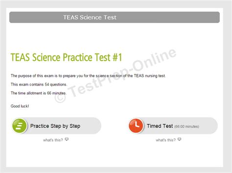 teas test sections ati teas science practice tests review testprep online