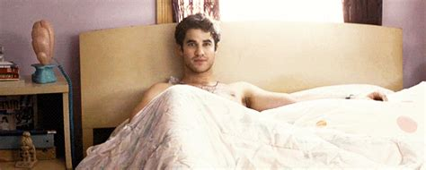 come to bed image come to bed lee gml darren gif glee tv show wiki