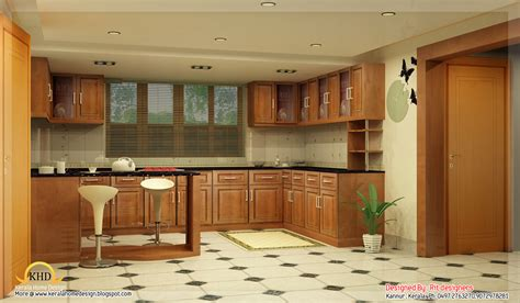 Kerala Home Interiors by Beautiful 3d Interior Designs Kerala Home Design And