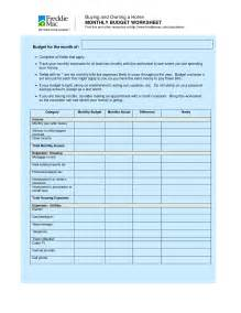 home budget worksheet best photos of household budget sheet monthly household