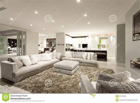 fluffy armchair fluffy armchair cozy living room with spacious sofas stock