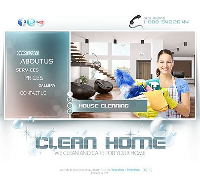 Services Website Templates Short Review Tonytemplate Blog Cleaning Service Website Template