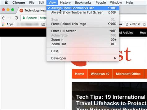 google images favorites how to enable the favorites bar in google chrome