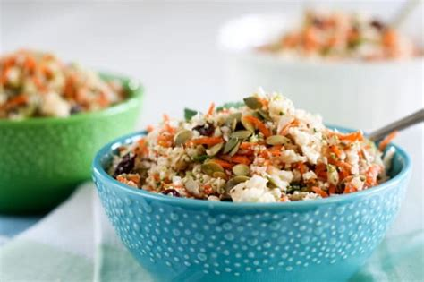 Cauliflower Rice Detox Salad by More Than 30 Delicious Detox Recipes Well Floured