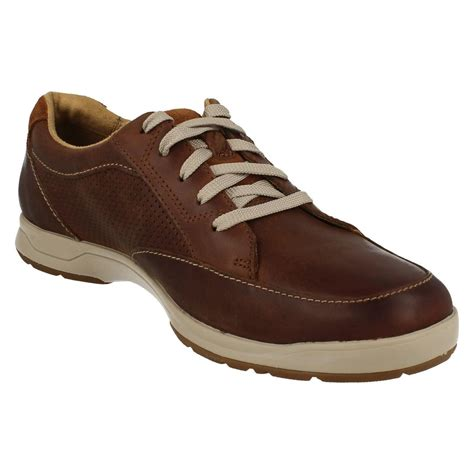 mens clarks lace up everyday shoes stafford park5 ebay