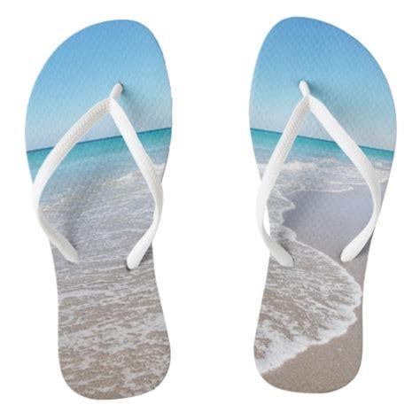 sandals and beaches destination wedding sandals flip flops zazzle