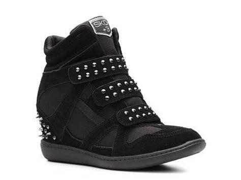 wedge sneakers dsw skch 3 studded wedge sneaker dsw