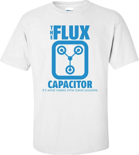flux capacitor light up t shirt the flux capacitor back to the future t shirt