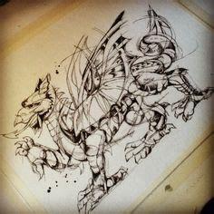 welsh dragon sleeve tattoo designs celtic knot