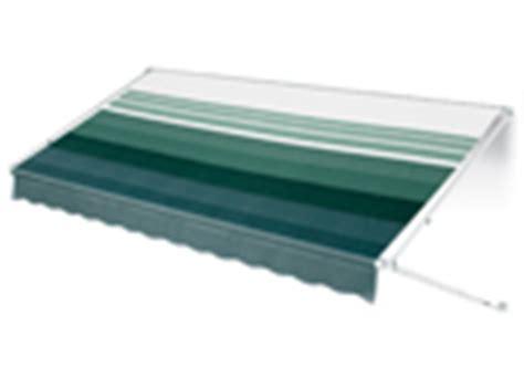awning weathershield a e 8500 vinyl 24ft with satin metal weathersheild