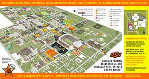 Oklahoma State University Map by Osu Prepares For Broadcast Of Espn Thursday Night Football