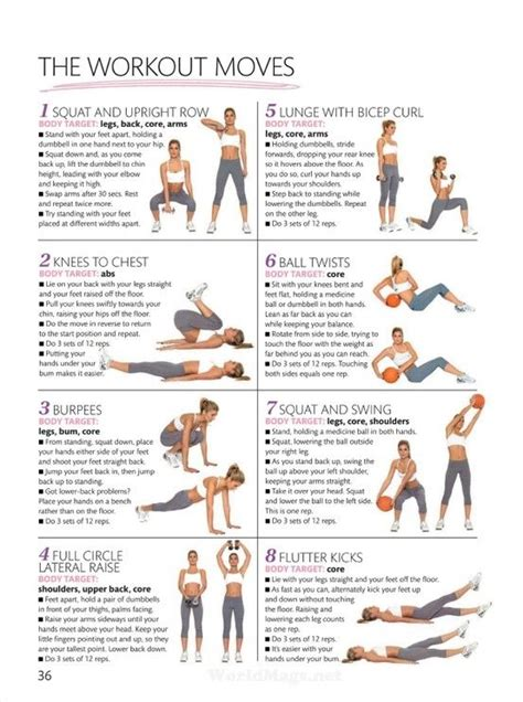 at home work out plan shape up size down beginner s workout fat burning