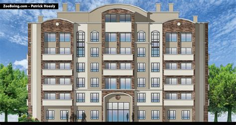 Hotel Building Plans And Elevations Hotel Elevation Zooboing Illustrations