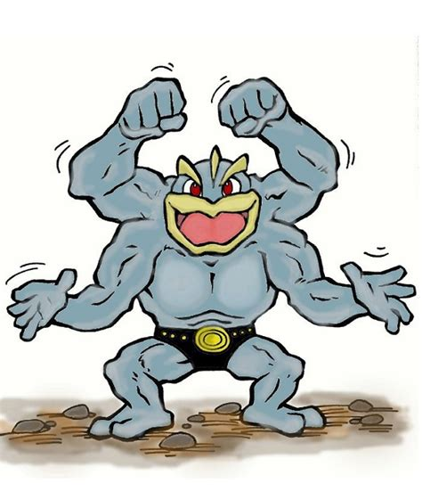 Which Do We Wish Were Rideable Pokemon In Pokemon X And Y? Machamp