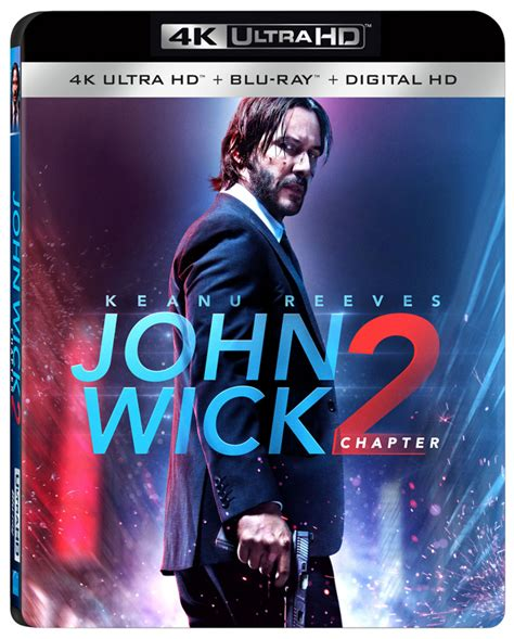 wick chapter 2 wick chapter 2 4k dvd and digital release