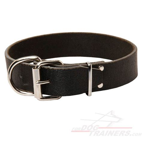 puppy collars leather collar c4 1 5 inch 3 8cm width c4 1073 leather collar 40 mm 19