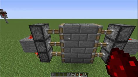 minecraft tutorials how to make an automatic 3x2 piston
