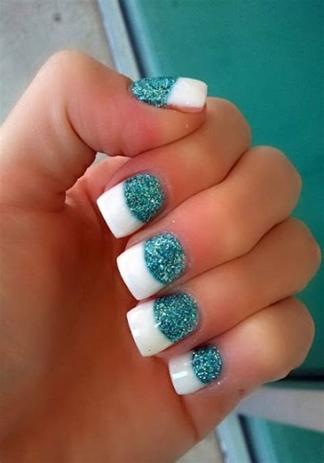 Nail For by Acrylic Nail Designs Glitter Www Pixshark