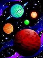 color of the planets what color are the planets pics about space