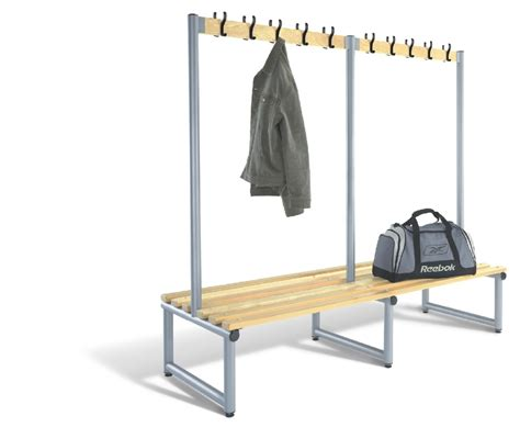 changing room benching changing room bench double sided