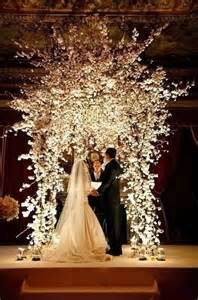 wedding arches photos 30 winter wedding arches and altars to get inspired weddingomania
