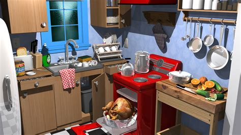kitchen cartoon cartoon kitchen images