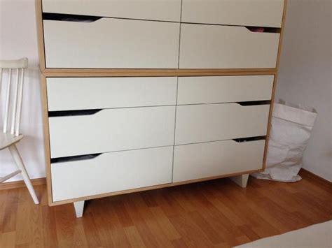 Ikea Mandal Commode ikea mandal kommode mit 6 schubladen birke wei 223 in