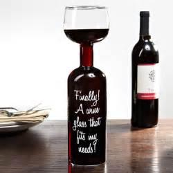Novelty Wine Glasses Gifts Wine Bottle Glass Hiconsumption