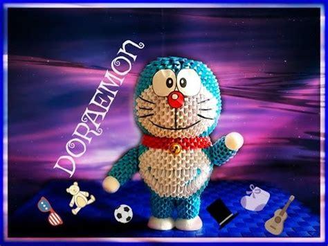 3d Origami Doraemon - origami 3d doraemon tutorial ita