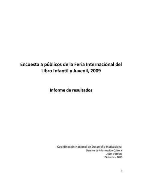 Publicaciones de Estudios de Público y Encuestas