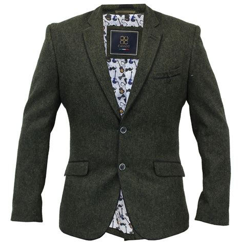 design jacket formal mens blazer formal coat herringbone checked smart suit