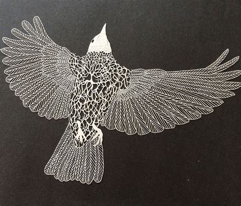 Paper Artist - incredibly intricate cut paper by maude white