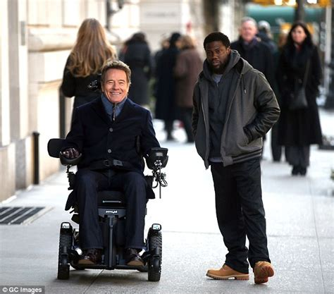 bryan cranston dad movie bryan cranston and kevin hart film untouchable in nyc