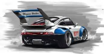 Porsche Artwork Rwb Porsche 911 By Mndls On Deviantart