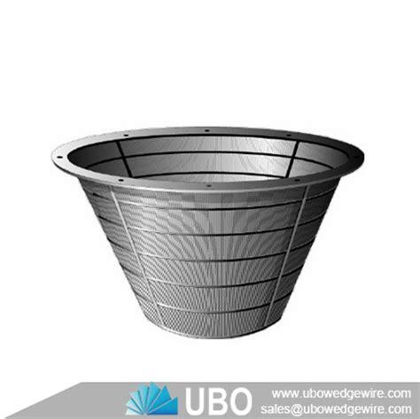 stainless steel316hc filter strainer baskets stainless steel centrifuge conical basket centrifuge basket v wire pressure wastewater screen
