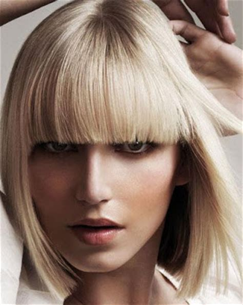 blonde bob blunt classic bob hairstyles archives hairstyles pictures