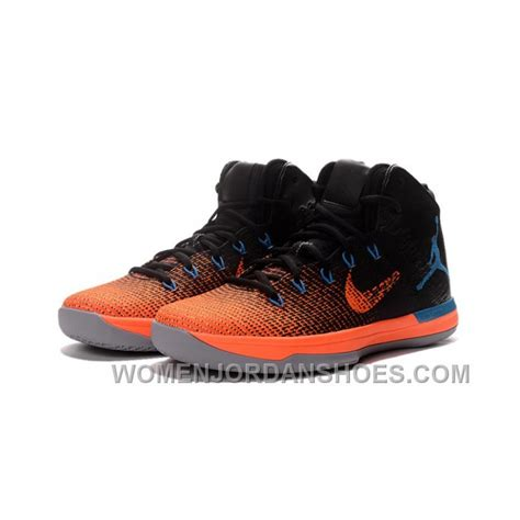 basketball shoes sale 2017 air xxx1 black orange blue basketball shoes