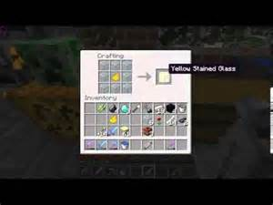 how to make colored glass in minecraft how to make stained glass minecraft 1 7 2
