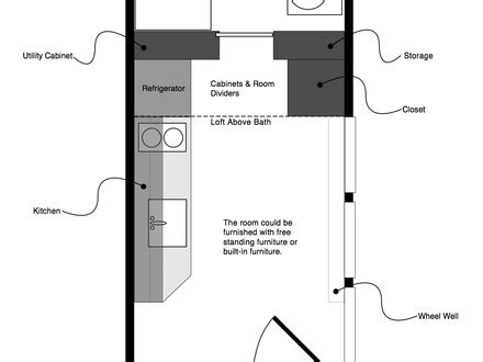 12x24 tiny house plans tiny house floor plans 12x24 free tiny house floor plans