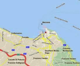 Ancona Italy Map by Ancona Map