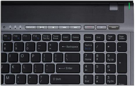 keyboard number pad tutorial sony vaio vpc f13ufx b 16 4 inch widescreen entertainment
