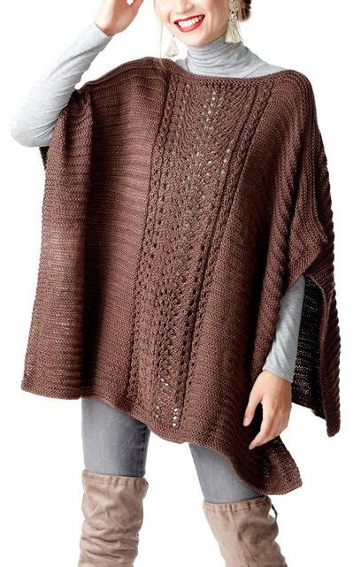 easy knit poncho pattern easy poncho knitting patterns in the loop knitting