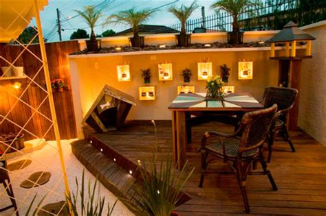 How To Build A Small Kitchen Island quintal planejado m 243 veis e jardim decora 231 227 o